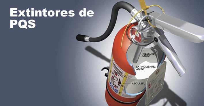 Extintores de-PQS